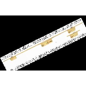 TRILOGIA-DUAL - zamek do drzwi wpuszczany listwowy trzypunktowy