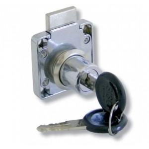 Zamek meblowy patentowy wierzchni 19/22 mm SISO X850