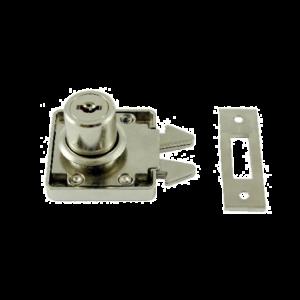 Zamek meblowy do drzwi żaluzjowych i przesuwnych 19/22 mm SISO X855
