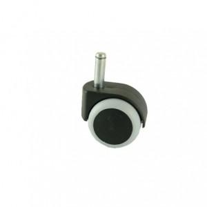 Kółko meblowe gumowe 50mm z trzpieniem fi-11