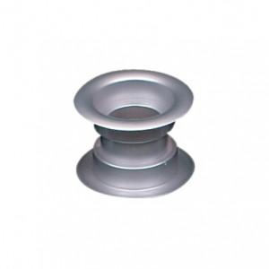 Tuleja wentylacyjna z tworzywa Ø-30 satyna srebrna