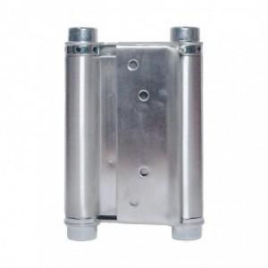 METALPLAST Zawias wahadłowy drzwiowy 125mm niklowany