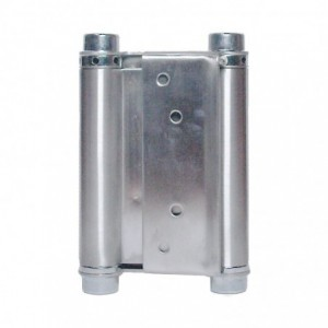 METALPLAST Zawias wahadłowy drzwiowy 150mm niklowany