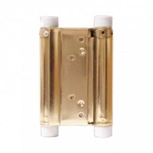 METALPLAST Zawias wahadłowy drzwiowy 150mm mosiężny