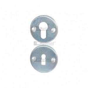 Tarczka aluminiowa na wkładkę bębenkową