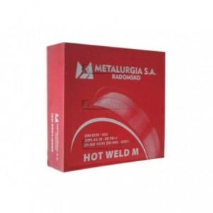 METALURGIA HOT WELD M G3Si1 1,0 mm 5 kg - Drut spawalniczy MIG/MAG
