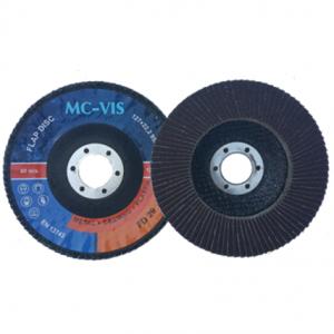 Lamelka tarcza listkowa 125 gr.120 metal MC-VIS FD29  11508 1 szt