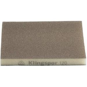 Gąbka polerska SW 501 123X98X10 granulacja 60 Klingspor 271080 1 szt