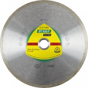 Tarcza diamentowa 230 płytki ceramiczne Klingspor DT 300 F 325360