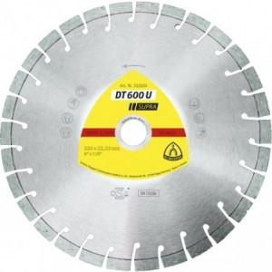 Tarcza diamentowa 230 uniwersalna Klingspor DT 600 U 322634