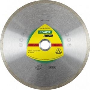 Tarcza diamentowa 230 płytki ceramiczne Klingspor DT 600 F 325372