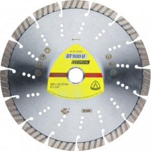 Tarcza diamentowa 230 uniwersalna Klingspor DT 900 U 325045