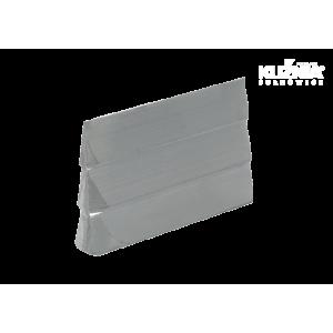 Klin aluminiowy do trzonowania Rozmiar 7x25.5x44