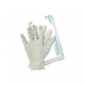 Rękawice lateksowe powlekane polimerem RALATEX(22)  M