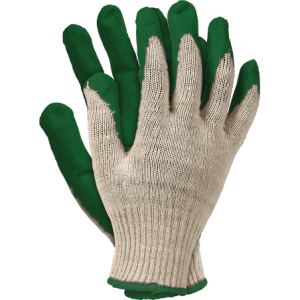 """Rękawice robocze, powlekane, zielone, """"Wampirki"""" R.450N"""