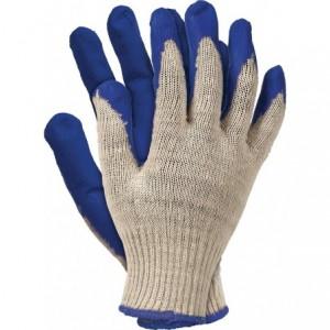"""Rękawice robocze, powlekane, niebieskie, """"Wampirki"""" R.450N"""