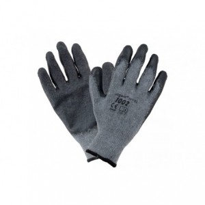 Rękawice robocze powlekane lateksem szare URGENT 1002 8