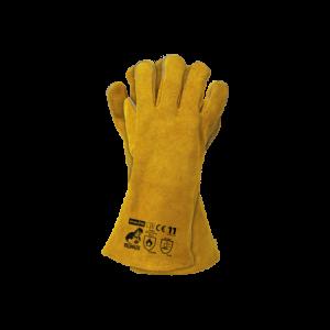 Rękawice spawalnicze robocze skórzane WELDOGER