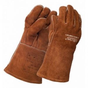 Rękawice spawalnicze skóra dwoinowa bydlęca WELDAS 10-2392XL