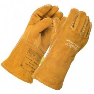 Rękawice spawalnicze prosty i wzmacniany kciuk 10-2392GB