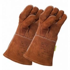 Rękawice spawalnicze dwie lewe skóra dwoinowa bydlęca WELDAS 10-2392LH