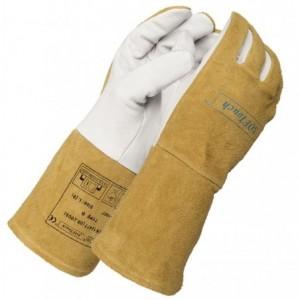 Rękawice spawalnicze kozia skóra lico 10-1007XL