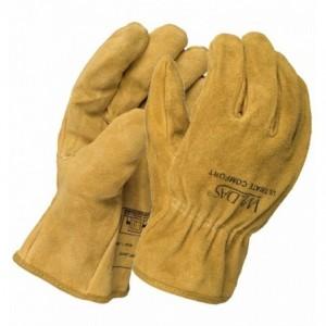 Rękawice robocze dla kierowców skóra dwoinowa bydlęca 10-2064