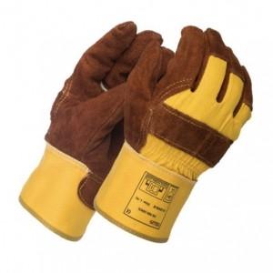 Rękawice robocze skóra bydlęca Lava Brown™ 10-2209LB
