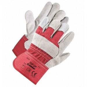 Rękawice robocze skóra dwoinowa bydlęca TOP UP A1018