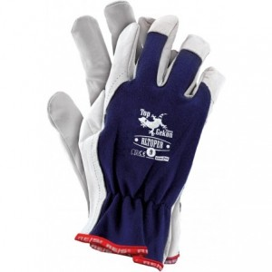 Rękawice robocze, wysokiej jakości kozia skóra, RLTOPER 9