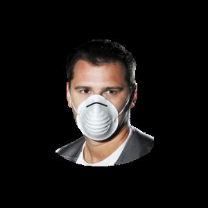 Półmaska higieniczna przeciwpyłowa MAS-HIGW