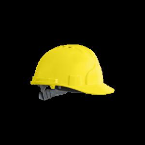 Kask, hełm ochronny z tworzywa ABS żółty KAS Y