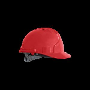Kask, hełm ochronny z tworzywa ABS czerwony KAS C