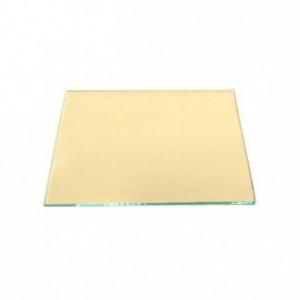 Szybka ochronna z powłoką szkło przeciwodpryskowe żółte do maski spawalniczej 90x110 mm