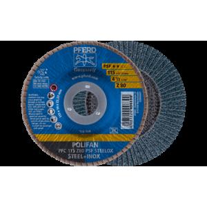 Lamelka tarcza listkowa 125 gr.40 metal/inox Pferd Z PSF STEELOX  67764125 1 szt