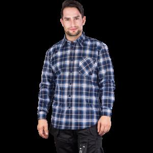 Koszula flanelowa w kratę KF-GPXXXL