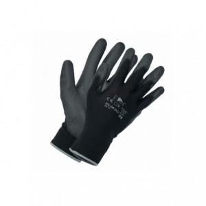 Czarne rękawice robocze nylonowe FF Bunting Light 9