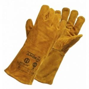 Rękawice spawalnicze skóra dwoinowa bydlęca kevlar AMBER