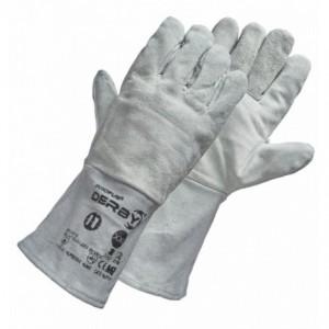 Rękawice spawalnicze skóra dwoinowa bydlęca kevlar DERBY