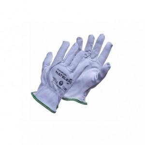 Rękawice robocze lico kozia skóra NATELER 10