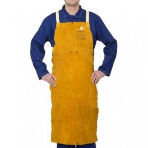Fartuch spawalniczy z dwoiny bydlęcej Golden Brown™ 44-2142