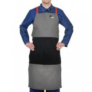 Fartuch spawalniczy trudnopalna bawełna Arc Knight® 38-4442 60x107cm
