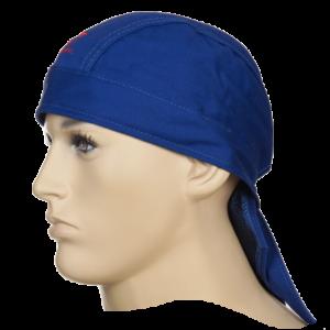 Chusta spawalnicza niebieska trudnopalna Fire Fox™ 23-3612