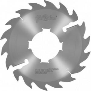 Piła HM MULTIX PRO Standard 0250x70x3,2/2,0/24+2z 2GS 4(20x6) do cięcia drewna suchego i świeżego w układzie wielopił GLOBUS