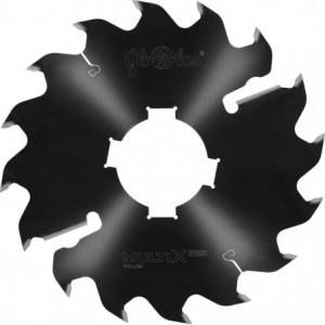Piła HM MULTIX PRO Plus 0250x80x3,2/2,0/12+2z GM 4(20x6) do cięcia drewna świeżego na wielopiłach z dużym posuwem GLOBUS