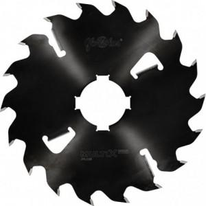 Piła HM MULTIX PRO Plus 0350x80x3,8/2,5/14+4z GM 4(20x6) do cięcia drewna świeżego na wielopiłach z dużym posuwem GLOBUS