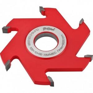 Frez HM nasadzany prosty 0125x30x40/6z GLOBUS