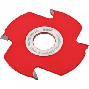 Frez HM nasadzany prosty z nacinakami 0120x30x4/2z2n GLOBUS
