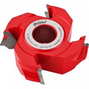 Frez HM nasadzany kształtowy ornamentowy 0160x30x60/4z GLOBUS