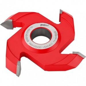 Frez HM nasadzany kształtowy symetryczny 0140x30x20/4z GLOBUS